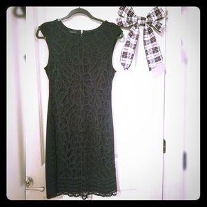 Elegant black INC lace dress
